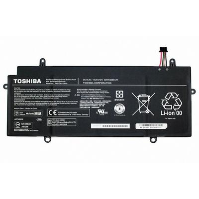 Toshiba Li-Po 3380mAh Notebook reserve-onderdeel - Zwart