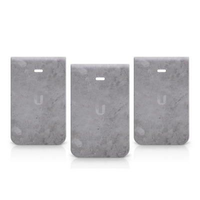 Ubiquiti Networks In-Wall HD Covers, Concrete, 3 pack - Grijs