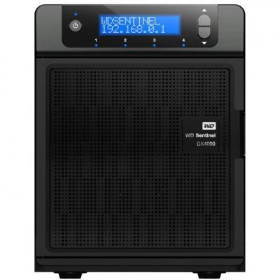 Western Digital NAS: Sentinel DX4000 8TB - Zwart