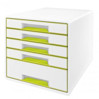 Leitz bureaulade: WOW Ladenblok - Groen, Wit