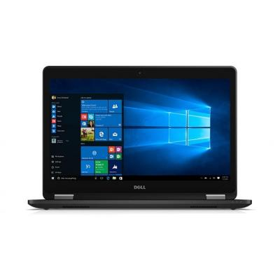 Dell laptop: Latitude E7470 - Core i5 - 8GB RAM - 128GB - Zwart