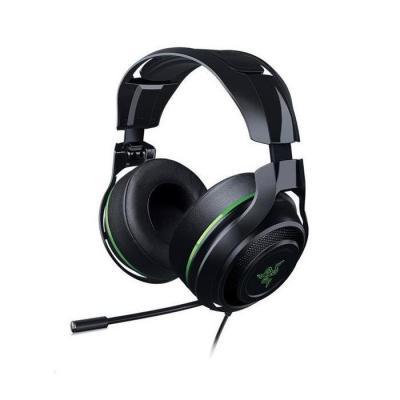 Razer headset: ManO'War 7.1 Limited Edition - Zwart, Groen