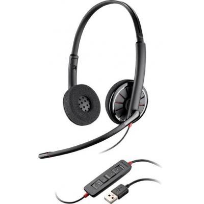 Plantronics headset: Blackwire C320 - Zwart
