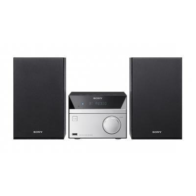 Sony home stereo set: CMT-SBT20B - Zwart, Zilver
