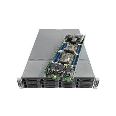 Intel server barebone: Server System MCB2208WAF4 - Zilver