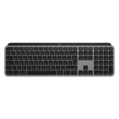 Logitech MX Keys voor Mac - QWERTY Toetsenbord - Aluminium, Zwart