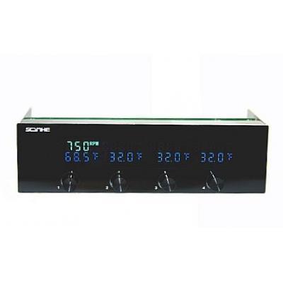 Scythe ventilator snelheidcontroller: Kaze Master II - Zwart
