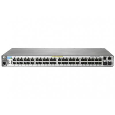 Hewlett packard enterprise switch: 2620-48-PoE+ - Grijs