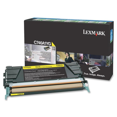 Lexmark C746A1YG cartridge