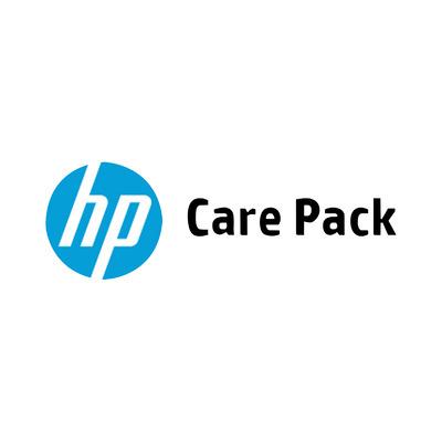HP 4 j onsite svc volg werkd CTR, alleen WS Support