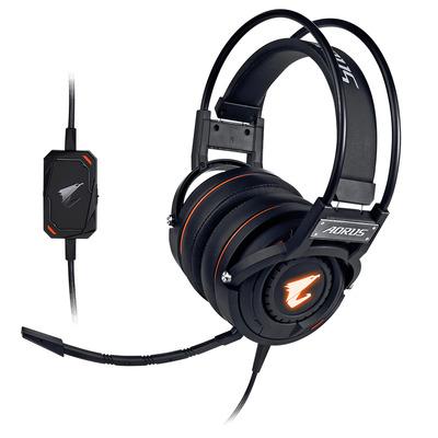 Gigabyte AORUS H5 Headset - Zwart