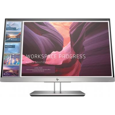 "HP EliteDisplay E223d 21,5"" Full HD IPS Monitor - Zwart, Zilver"