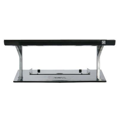 Dell monitorarm: E-reeks, Basismonitorstandaard – Kit - Zwart, Zilver