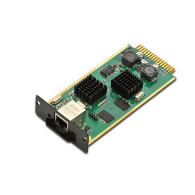 Digitus IP function module f/ KVM Switches Netwerkkaart - Zwart, Groen