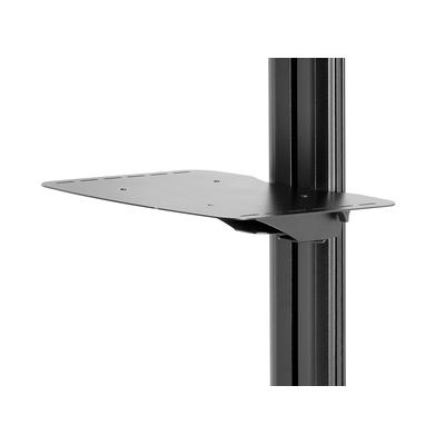Peerless SmartMount Metal Shelf For -AV Carts or Stands Multimedia accessoire - Zwart
