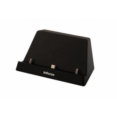Infocus mobile device dock station: Q Tablet Docking Station - Zwart
