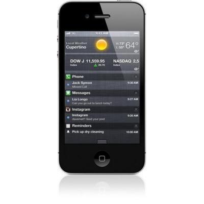 Apple smartphone: iPhone 4S - Refurbished - Zichtbare gebruikssporen  - Zwart 16GB (Approved Selection Budget .....