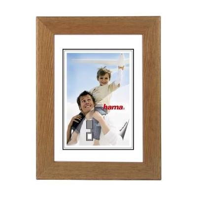 "Hama Wooden Frame ""Riga"", brown, 13 x 18 cm Fotolijst - Bruin"