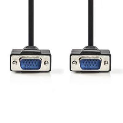 Nedis VGA-kabel, VGA male - VGA male, 2,0 m, Zwart VGA kabel