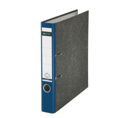 Leitz map: Cardboard binder 180° - Blauw