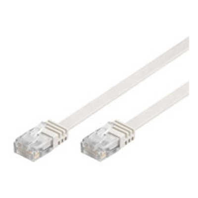Goobay 2m RJ-45 Cat6 Cable Netwerkkabel - Wit