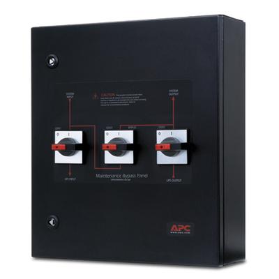 APC Smart-UPS VT Maintenance Bypass Panel Power supply unit - Zwart