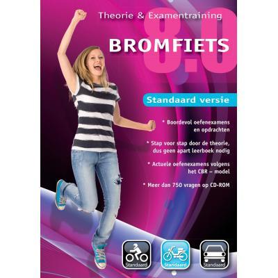 Educontract educatieve software: Bromfiets Theorie en Examen Training 8.0 Standaard