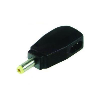 2-power laptop accessoire: 12v, 3A Tip, Black - Zwart
