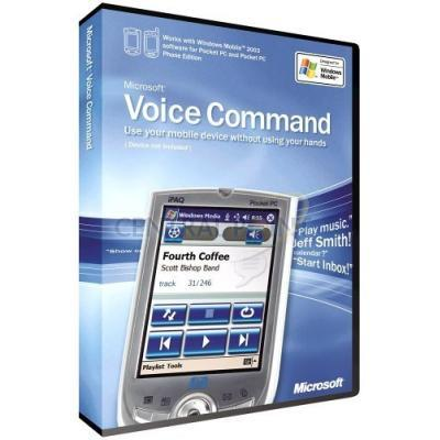 Microsoft Voice Command 1.5 Win CE Engels CD Stemherkenningssofware