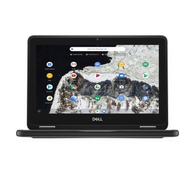 "DELL Chromebook 3100 11,6"" Celeron 4GB RAM 32GB eMMC 2-in-1 Laptop - Zwart, Grijs"