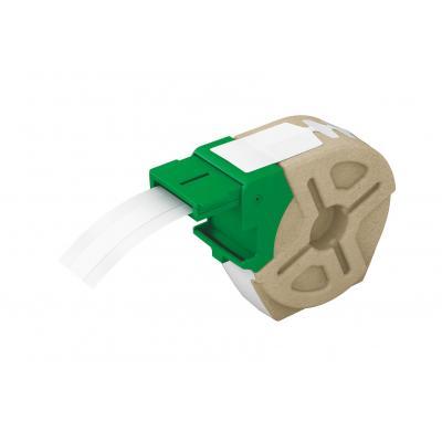 Leitz etiket: Icon Intelligent Plastic Label Cartridge 12 mm, 10 m, white - Wit