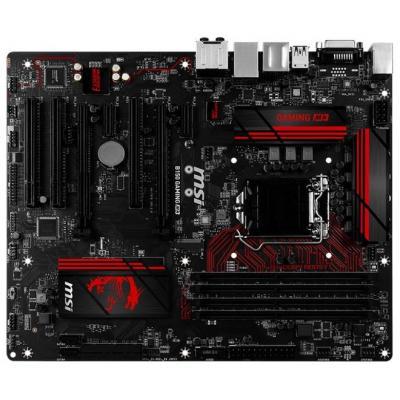 Msi moederbord: Intel B150 Express, 4x DDR4 DIMM, 6x SATA 6Gb/s, M.2, PCI/PCI-E, HDMI/DVI-D, USB 3.1/USB 2.0, Gigabit .....