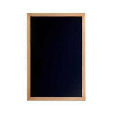 Securit bord: 400 x 600 mm, 902 g - Zwart, Hout