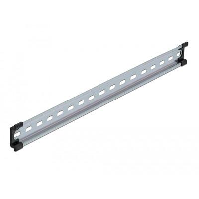 DeLOCK DIN Rail, 482x35x7.5 mm, Steel Montagekit - Roestvrijstaal