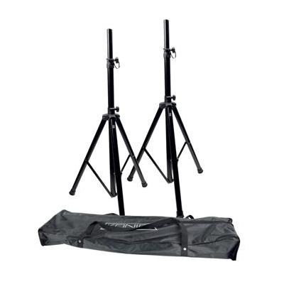 König speakersteun: 30kg max, Aluminum, zwart