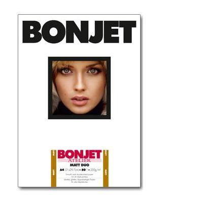 Bonjet 230g/m², 100 sheets, 290µm, A4 Fotopapier
