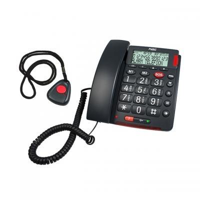 Fysic dect telefoon: FX-3850 Big Button SOS Telefoon - Grijs