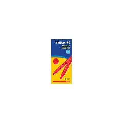 Pelikan sealing waxe: Zegellak rood/doos 10
