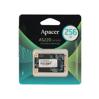 2-power SSD: 256GB SSD 1.8 mSATA 6Gbps - Zwart, Groen