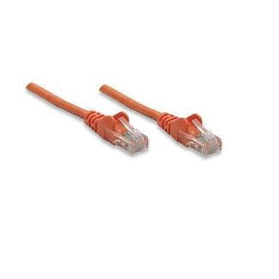 Intellinet netwerkkabel: Cat6, 1m - Oranje