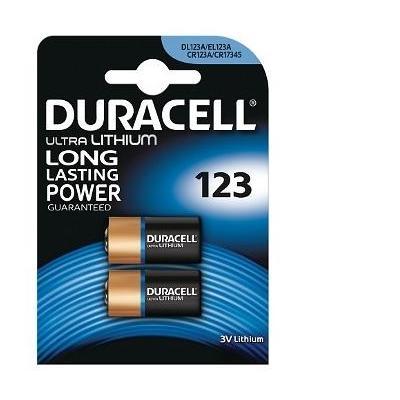 Duracell batterij: Ultra M3 Lithium Pack of 2 - Zwart