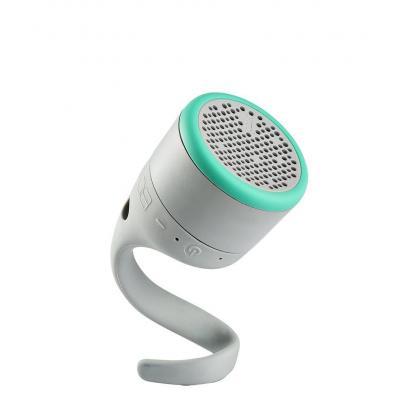 """Boom draagbare luidspreker: BT, WR, 6.35 cm (2.5 """") , 8h, Micro USB, Grey/Mint - Grijs, Turkoois"""