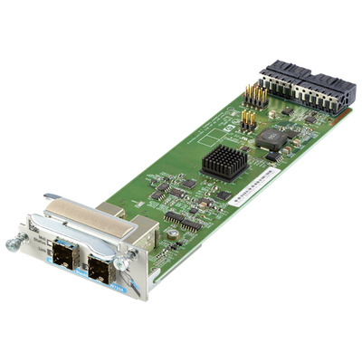 Hewlett packard enterprise netwerk switch module: 2920 2-port Stack