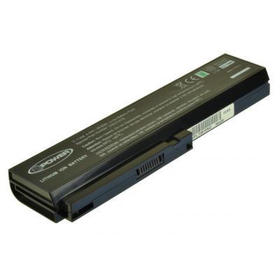 2-power batterij: Main Battery Pack, Li-ion, 11.1V, 4400mAh, 48.8Whr, 318g, Black - Zwart