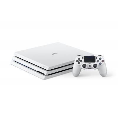 Sony spelcomputer: PlayStation 4, Console Pro (White) + 1 TB + That's You (Voucher)  PS4