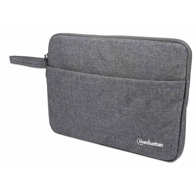 "Manhattan Seattle Laptop Sleeve 14.5"", Grey, Padded, Extra Soft Internal Cushioning, Main Compartment with ....."