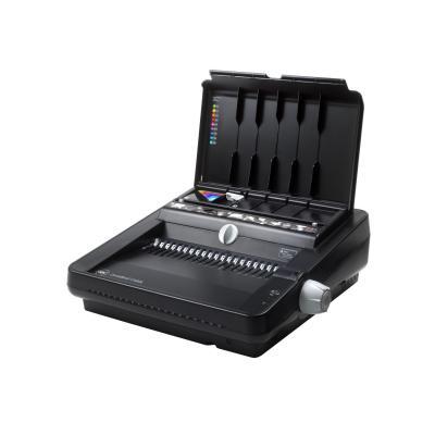 Gbc inbindmachine: CombBind C450E Elektrisch Pons- Bindmachine voor Plastic Bindruggen - Zwart