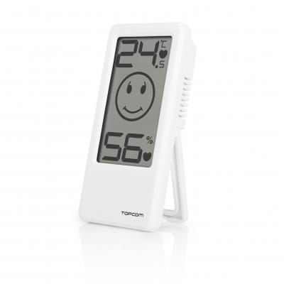 Topcom hygrometer: TH-4675 Baby comfort indicator - Wit