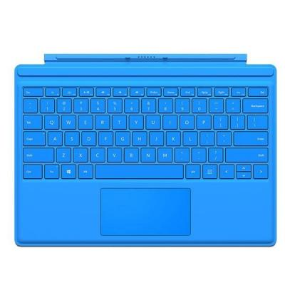 Microsoft mobile device keyboard: Surface Pro 4 Type Cover - Cyaan