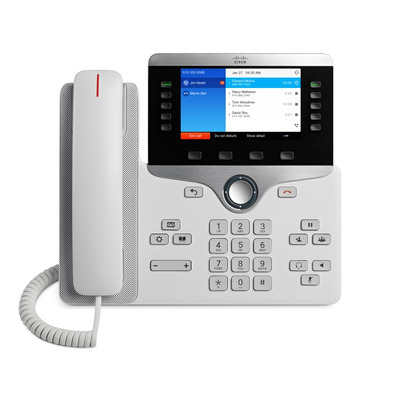 Cisco 8841 IP telefoon - Wit